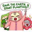 CatRabbit ; Go Green