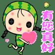 可愛西瓜妹2☆最新貼圖☆