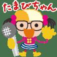 Japanese reporter tamabi-chan
