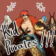 ONE PIECE キッド海賊団(2年前)スタンプ