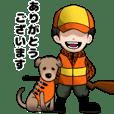 猟師百物語with猟犬