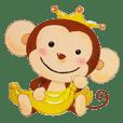 小さな猿の笑顔