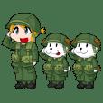 ちびミリ -U.S.ARMY in NAM-