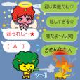 Oni rangers speech balloons