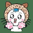 cute young cat girl