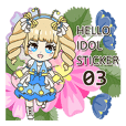 Hello Idol Sticker 03
