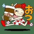 ひま子ちゃん51 デカ文字で毎日挨拶3