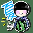 Zashiki warashi sticker2