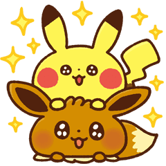 Stickers Pokemon.Pokemon Yurutto Line Stickers Line Store