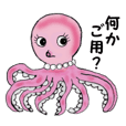 Pink Octopus, the cute & cool girls.