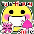 Cute Happy Colorful Smile Sticker
