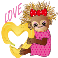The child's orangutang BEATRICE