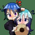 Ogaki Character`s Sticker