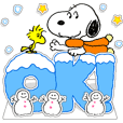 Stiker Pop-up Snoopy: Kartu Ucapan