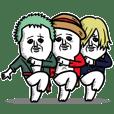 ONE PIECE x パンダおっさん