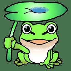 理科の仲間たち11(カエルの日常)