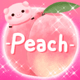 -peach- Assortment of peaches
