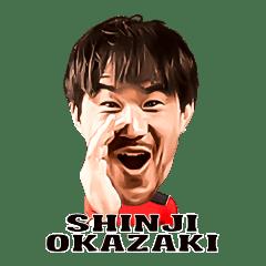 Shinji Okazaki Sticker