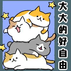自由的貓咪們大貼圖