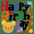 Birthday in English