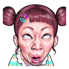Funny Face Collection Line Stickers Line Store