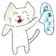 Very cute cat stickers