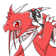 Red Dragon sticker - RYUDORA -
