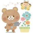 Cute Animals BIG stickers(tw)