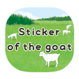 Sticker of the goat [English]