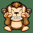 可愛調皮的猴子第二部份