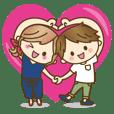 【動く♥】ゆるカップルのLOVE×LOVEな日常