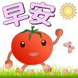 Cute Tomato-Stickers used every day