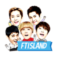 FTISLAND OFFICIAL STICKER