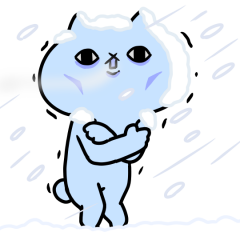 反應過激的貓 第12彈 冬天來了