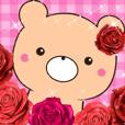 薔薇くま3