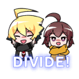 DIVIDE! UNDER NIGHT IN-BIRTH Stickers