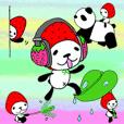 イチゴなパンダ 10。優しさ+夏+関西