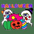 Halloween & autumn sticker