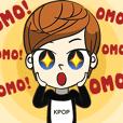 Chibi Kpop Korean Fanboy