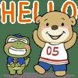 Bear BOOBOO& Komodo PonPon-conversation7