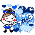 OshakawagirlyyokutukauSticker
