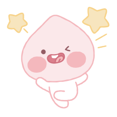 Lovely Apeach Animated Stickers 2
