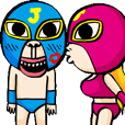 Funny Wrestler Johnny Barbie Japanese