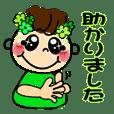 ☆動く☆キュートなスマイル手話