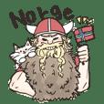 mofumofu Norwegian Sticker