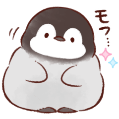 Soft and cute penguin