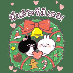 [Big Stickers] Cute Rabbit