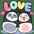 Panda : Love you