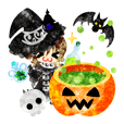 Pretty little people -Halloween party-
