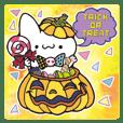 Halloween party of Invective Mr. kitten.
